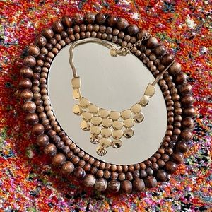 Express Gold Bubble Necklace